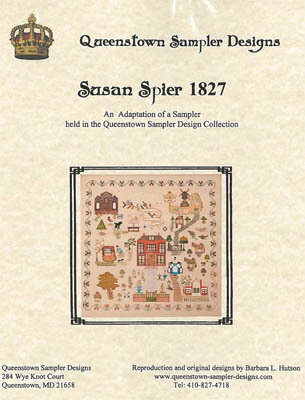 Susan Spier 1827 - Cross Stitch Pattern