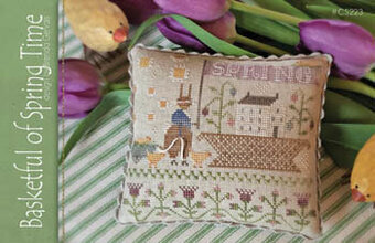 Basketful of Spring - Cross Stitch Pattern