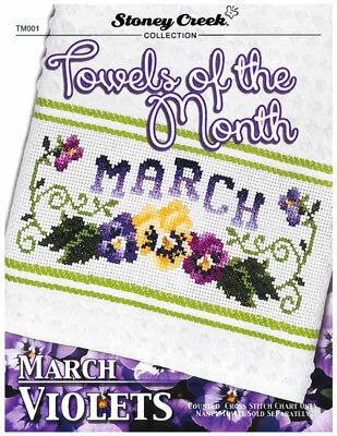 Towels of the Month - March - Cross Stitch Pattern