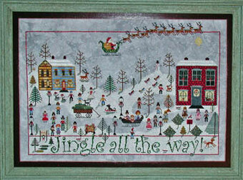 Praiseworthy Stitches Cross Stitch CHART Christmas//Halloween-Your Choice