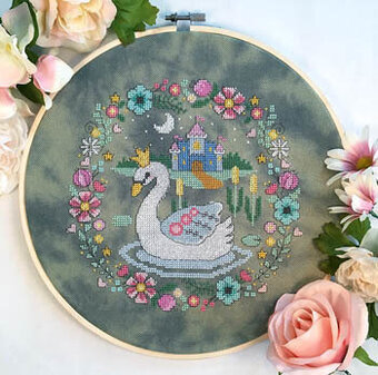 Swan Princess - Cross Stitch Pattern