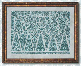 Forests of Sumatra - Cross Stitch Pattern