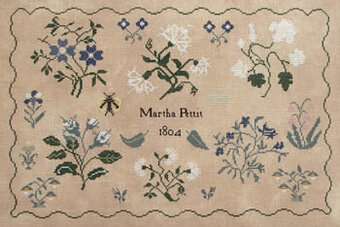 Martha Pettit - Cross Stitch Pattern