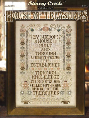 House of Treasures - Cross Stitch Pattern