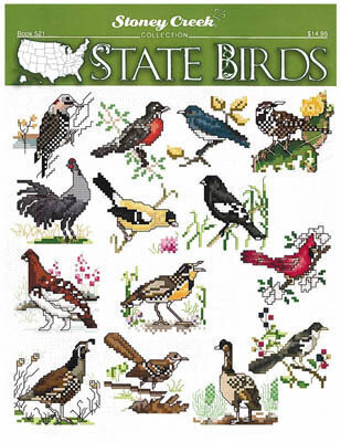 State Birds - Cross Stitch Pattern