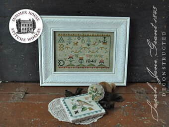Sarah Jane Grant 1845 - Deconstructed - Cross Stitch Pattern