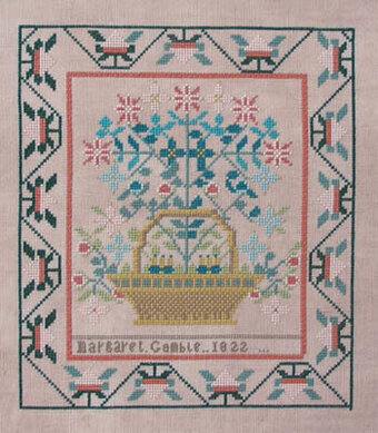 Margaret Gamble 1822 - Cross Stitch Pattern