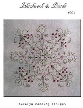Blackwork & Beads - Cross Stitch Pattern