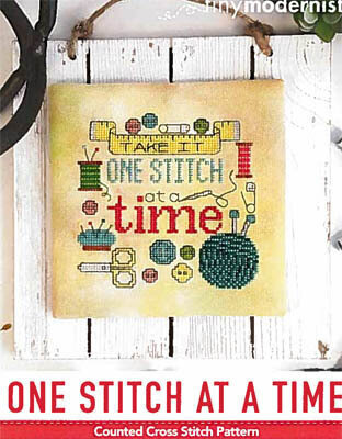 One Stitch At A Time - Cross Stitch Pattern