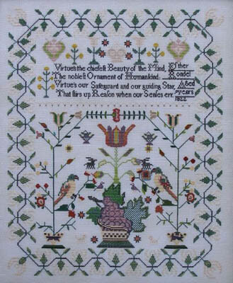 Esther Rondel 1822 - Cross Stitch Pattern