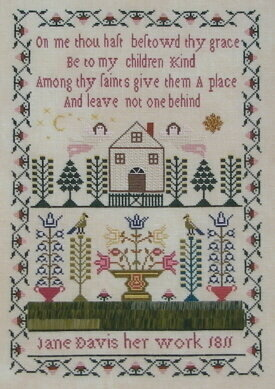 Jane Davis 1811 - Cross Stitch Pattern