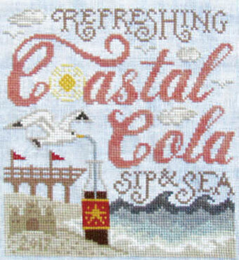 Coastal Cola - Cross Stitch Pattern