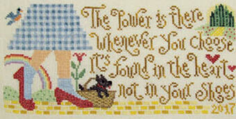 Dorothy's Discovery - Cross Stitch Pattern