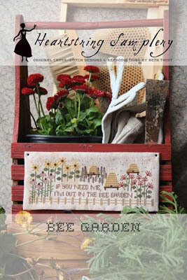 Bee Garden - Cross Stitch Pattern
