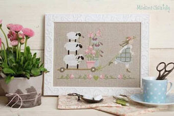 Spring Delivery  - Cross Stitch Pattern