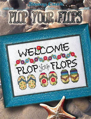 Plop Your Flops - Cross Stitch Pattern