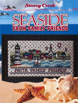 Seaside Faith Family Friends - Cross Stitch Pattern