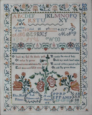 Ruth Passmore 1804 - Cross Stitch Pattern