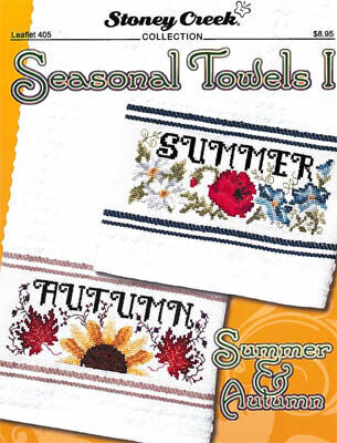 Seasonal Towels I - Cross Stitch Pattern
