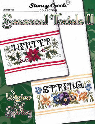Seasonal Towels II - Cross Stitch Pattern