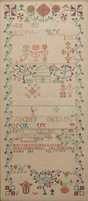 Frances Swartz 1842 - Cross Stitch Pattern