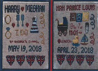 Royal Sampler Duo - Cross Stitch Pattern