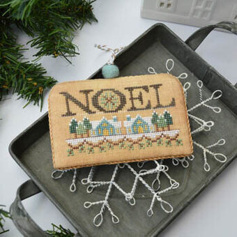 Noel (White Christmas 4) - Cross Stitch Pattern