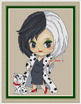 Cruella - Cross Stitch Pattern