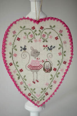 Coeur de Chat - Cross Stitch Pattern
