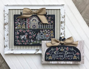 Queen Bee Flower Farm - Cross Stitch Pattern