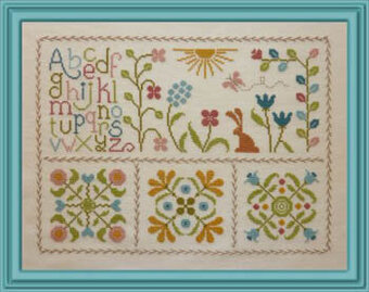 Fraicheur Printaniere - Cross Stitch Pattern
