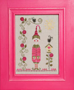 Lutin De Printemps (Spring Elf) - Cross Stitch Pattern