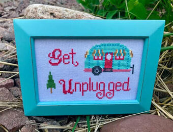 Get Unplugged - Cross Stitch Pattern