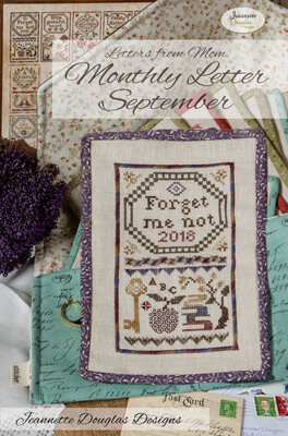 Letters From Mom 2 - September - Cross Stitch Pattern