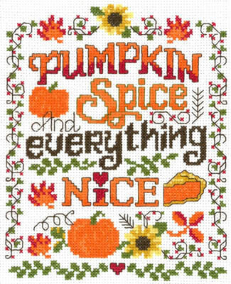 Pumpkin Spice - Cross Stitch Pattern
