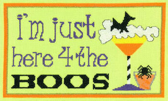 Here for the Boos - Cross Stitch Pattern