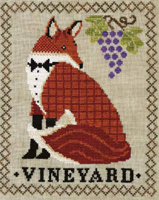 Red Fox Vineyard - Cross Stitch Pattern