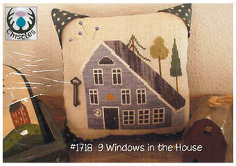 9 Windows in the House  - Cross Stitch Pattern