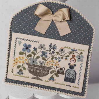 Jardin Bleu - Cross Stitch Pattern