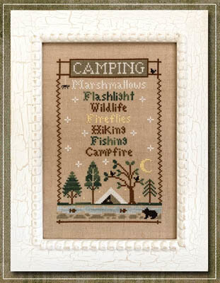 Camping Trip - Cross Stitch Pattern
