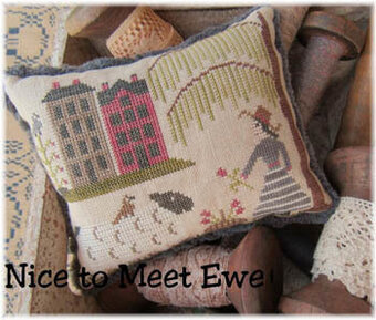 Nice to Meet Ewe - Cross Stitch Pattern