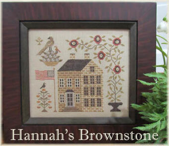 Hannah's Brownstone - Cross Stitch Pattern