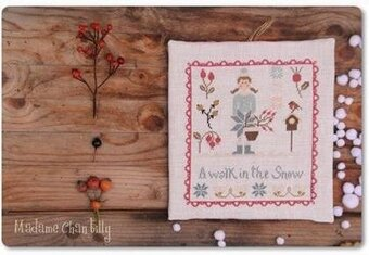 Walk in the Snow - Cross Stitch Pattern