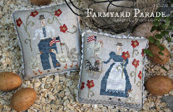 Farmyard Parade - Cross Stitch Pattern