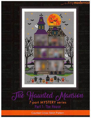 Haunted Mansion Part 1 - Cross Stitch Pattern