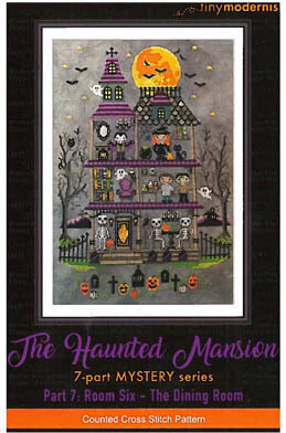 Haunted Mansion Part 7 - Cross Stitch Pattern