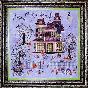 Mr Bones Starlight Ballroom - Cross Stitch Pattern