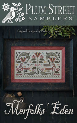 Merfolks' Eden - Cross Stitch Pattern