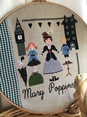 Mary Poppins - Cross Stitch Pattern