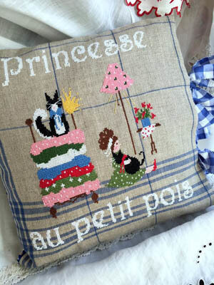 Princesse Au Petit Pois - Cross Stitch Pattern